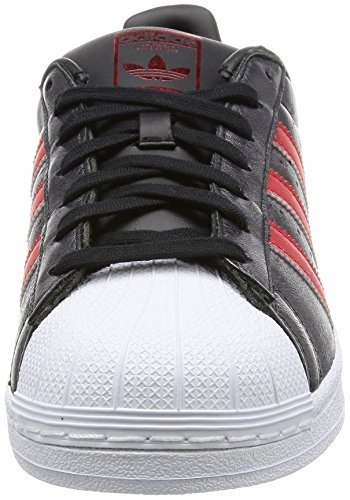 Adidas Superstar Schuhe core black-collegiate red-collegiate red - 43 1/3