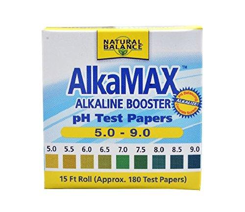 (Natural Balance Alkamax PH Test Paper 15 feet 180 Count)