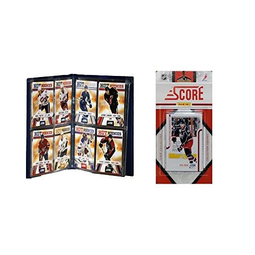 UPC 723450606324, NHL Columbus Blue Jackets Licensed 2011 Score Team Set and Storage Album