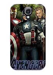Fashion Protective Avengers Case Cover For Galaxy S4