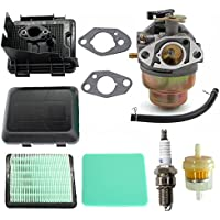 AISEN Carburateur met luchtfilter luchtfilterdeksel luchtfilterbehuizing kit voor GC135 GCV135 GC160 GCV160 GCV190…