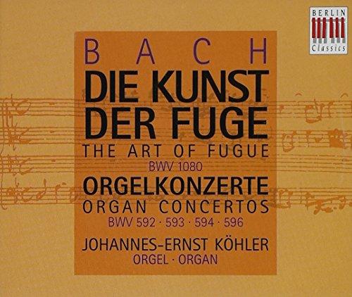 Price comparison product image Bach: Die Kunst Der Fuge (The Art Of Fugue) / Orgelkonzerte (Organ Concertos)