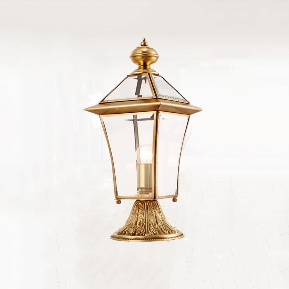 Earlyheart Europäische Outdoor-Wand Lampe Wasserdichte Landschaft Garten Lampe Post Lampe LED Garten Lampe Balkon Wandleuchte 20  50Cm