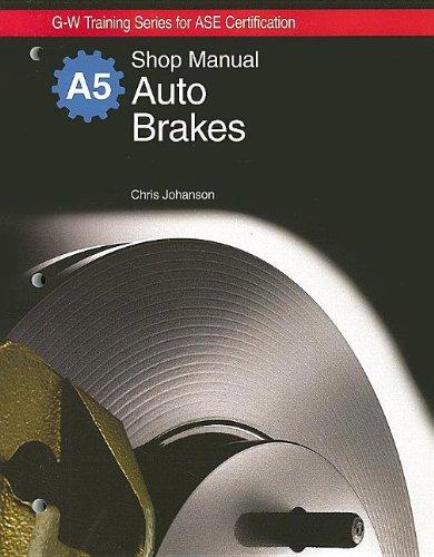 Auto Brakes Natef Standards Job Sheets