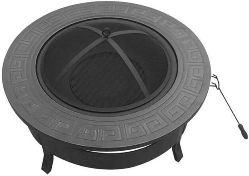 GYH-CHU Parrilla de carbón de leña para Barbacoa, Herramientas de Parrilla de Barbacoa livianas y portátiles Plegables para Asar a la Parrilla al Aire Libre Cocina