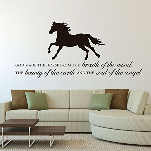horse-vinyl-wall-decal-god-made-the-horse-with-horse-image-vinyl-home-wall-decor