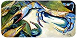 Caroline's Treasures JMK1333HRC2858 Crabs Let's Rock Kitchen Or Bath Mat Runner, 28'' Hx58'' W, Multicolor