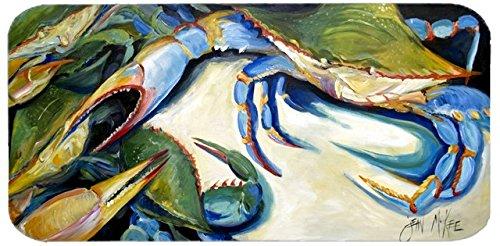 Caroline's Treasures JMK1333HRC2858 Crabs Let's Rock Kitchen Or Bath Mat Runner, 28'' Hx58'' W, Multicolor