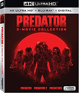 Cover Image for 'Predator: 3-Movie Collection [4K Ultra HD + Blu-ray + Digital]'