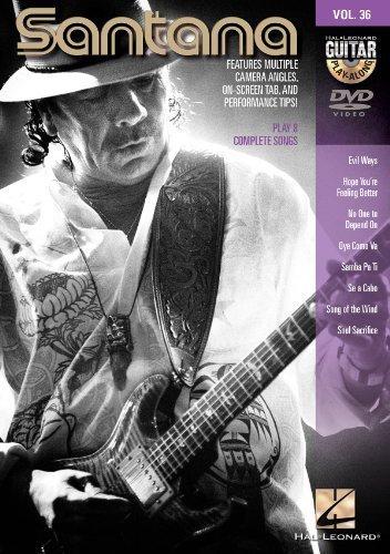 Santana - Guitar Play-Along DVD Volume 36 by Hal Leonard Corporation