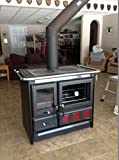 Wood-Burning-Cook-Stove-La-Nordica-Rosa-XXL-with-Baking-Oven