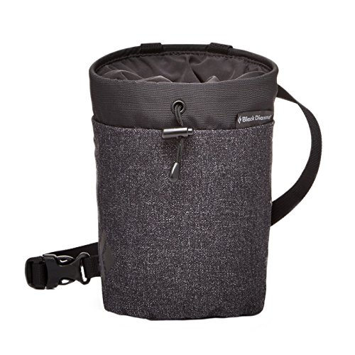 grey Chalk Bags Gym Diamond Smoke 2018 amp; Black chalk Boulder climbing bag XTqWYAEw