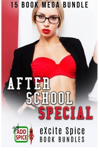 Sasha Swirl White - After School Special: 15 Book Excite Spice MEGA Bundle