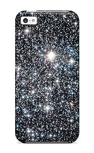 New Style 5767186K17412053 Snap-on Case Designed For Iphone 5c- Nebula