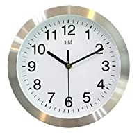 HITO Silent Non-ticking Wall Clock- Meta...