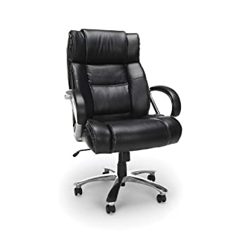 Amazon Com Ofm Avenger Series Big And Tall Leather Executive Chair