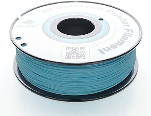 3D Solutech Teal Blue 1.75mm ABS 3D Printer Filament 2.2 LBS 1.0KG