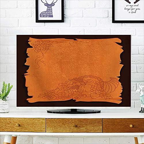 Funda de Tela para el Polvo de la TV, Caja de Regalo para el año Fondo Rojo champán 30/32: Amazon.es: Electrónica