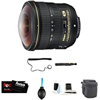 Nikon AF-S FISHEYE NIKKOR 8-15mm f/3.5-4.5E ED Lens Deluxe Accessory Kit