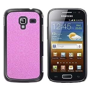 For Samsung Galaxy Ace 2 I8160 / Ace2 II XS7560M Case , Glitter White Snow Winter Bling - Diseño Patrón Teléfono Caso Cubierta Case Bumper Duro Protección Case Cover Funda