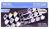 Testors (9186) Hobby/Craft Acrylic Paint Pod Sets, 18 Paints Per Pack