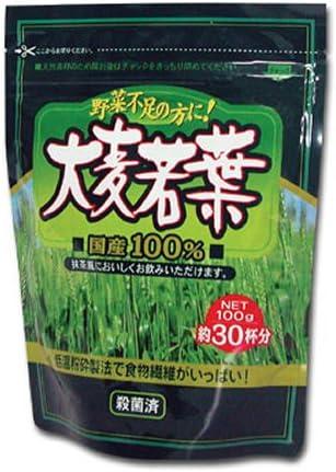 精茶百年本舗 大麦若葉 100g