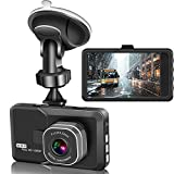 Actionpie Dash Cam X1LD, Full HD 1080P Car DVR Dashboard Camera, Loop Recording, G-Sensor,WDR, Motion Detection, Park Monitor (Black)