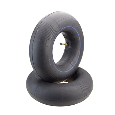 GOOFIT 13 X 5.00-6 Curved Bent Stem Inner Tube Tire for Mini Electric Old Man Scooter (2 pcs): Automotive