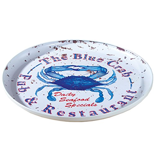 Ohio Wholesale Food Safe Crab Tray, Blue