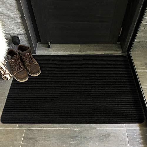 Ottomanson LIFE SAVER Door Mat, 2'X3', Black