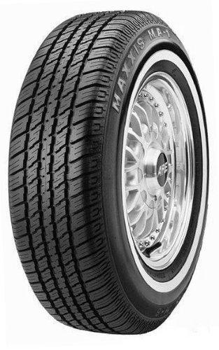- P185/80R13 Maxxis MA-1 90S WW White Wall Tire