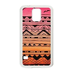 linJUN FENGAztec Tribal Pattern Customized Cover Case for SamSung Galaxy S5 I9600,custom phone case ygtg536261