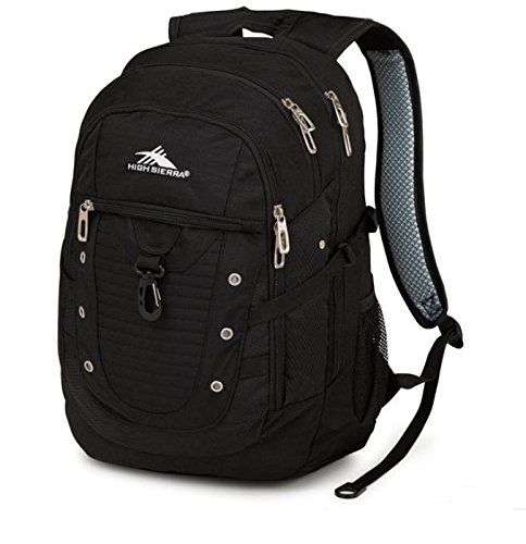 High Sierra Tactic Backpack, Black