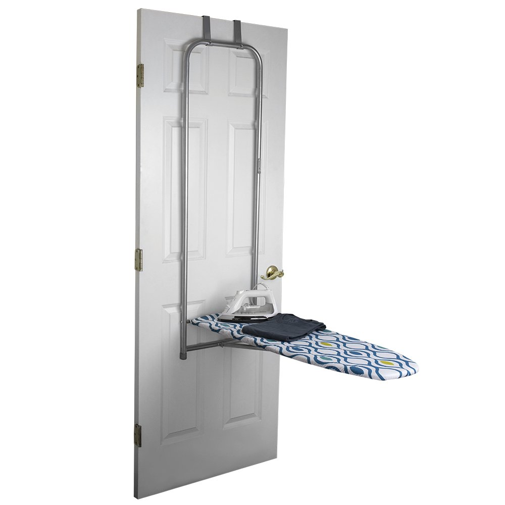 Sunbeam Over The Door Ironing Board, Steel, 14 by 42-Inch HDS Trading IB01787