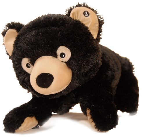 Zoobies Plush Toy, Bubba The Black Bear (Soft Plush Zoobies Toy)