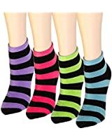12 Pairs Women's Socks Assorted Colors Size 9-11