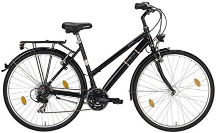 Bicicleta de trekking mujer, Excelsior, 28, 46/51 cm RH, aluminio ...