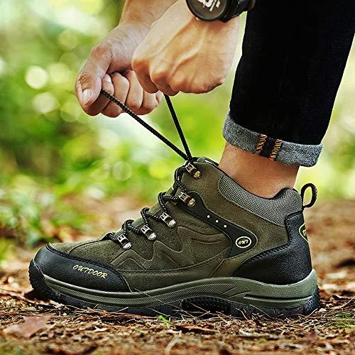 n Unisex Scarpe Green Esterni Arrampicata Casual Escursione Per Da Donna Traspiranti Passeggio Uomo Trekking Impermeabili wAqfC6