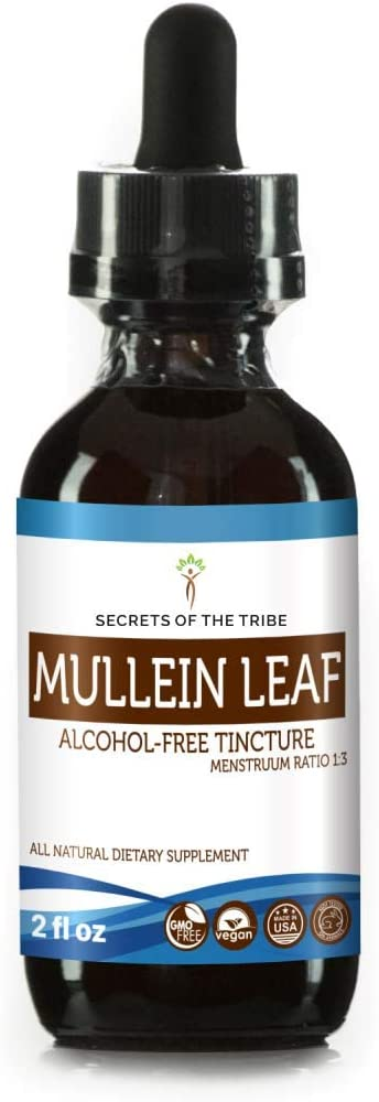 Secrets of the Tribe Organic Alcohol-Free Mullein Leaf Extract