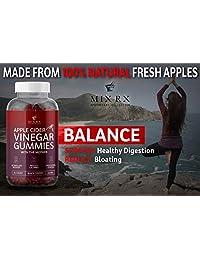 (2 Pack | 120 Gummies) Organic Apple Cider Vinegar Gummies with The Mother - Gummy Alternative...