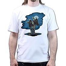 Mens Zombie PS3 Gamer Black Ops Walking Zombie T shirt