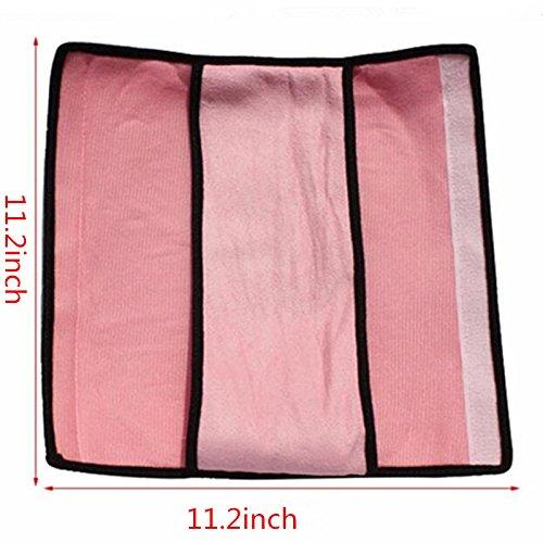 Auto Seat Belt Pillow Car Safety Belt Protect, Shoulder Pad, Adjust Vehicle Seat Belt Cushion For Kids, Pink