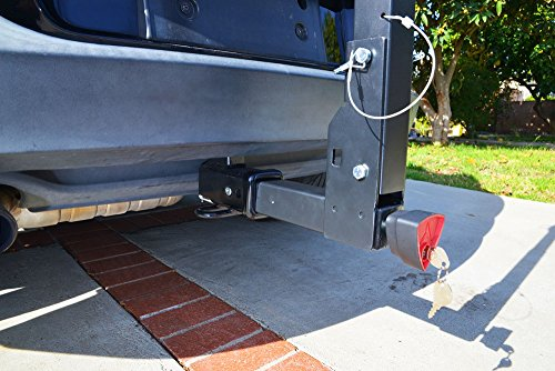 Allen Sports Deluxe Locking Quick Release 4-Bike Carrier for 2'' Hitch by Allen Sports (Image #5)