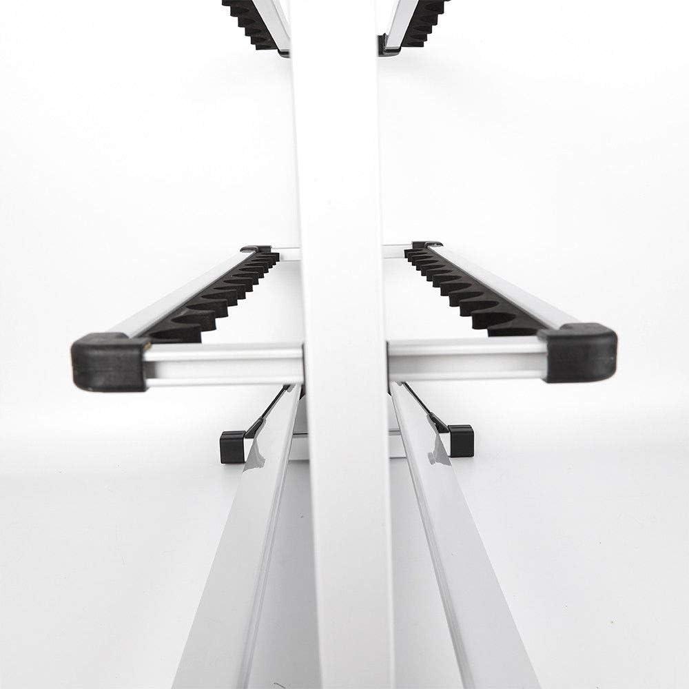 72cm size aluminum alloy Fishing rod display stand 24 Poles Rod Storage Holder 32.5cm SHIOUCY 72cm