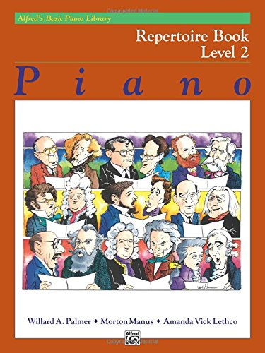 Alfred's Basic Piano Library Repertoire, Bk 2 ()