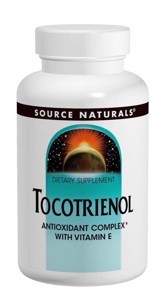 Source Naturals Tocotrienol, Antioxidant Complex with Vitamin E, 60 Softgels