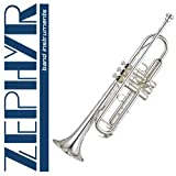 Zephyr 600S Deluxe Double-Braced Silver Trumpet Outfit