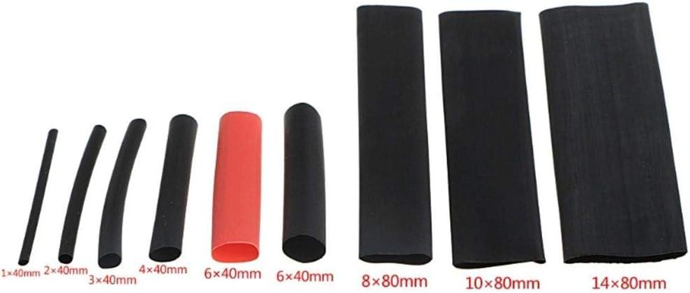 wufeng 328PCS 2 1 Polyol/éfine Assortis Gaine thermor/étractable Tube Wrap C/âble Fil isol/é Sleeving Jeu de tuyaux