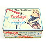 "Rectangle Kitchen Food Storage Tin Tea Sugar Cookie Cupcakes Box ""Miss Tabitha's"" MY-3502"