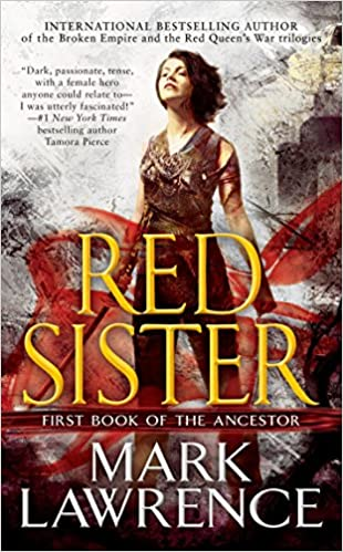 Red Sister (The book of the Ancestor 1) book cover